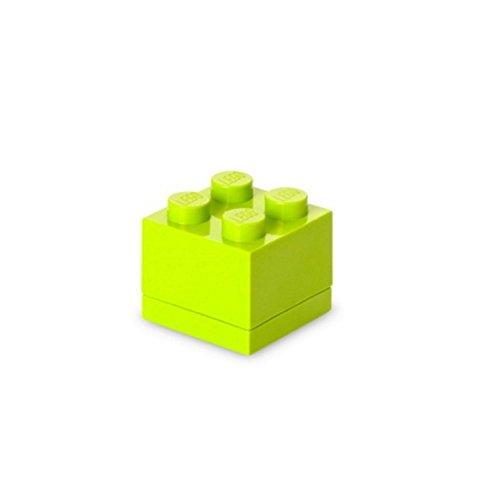 LEGO Lunch Box 4Mini Lime Grün
