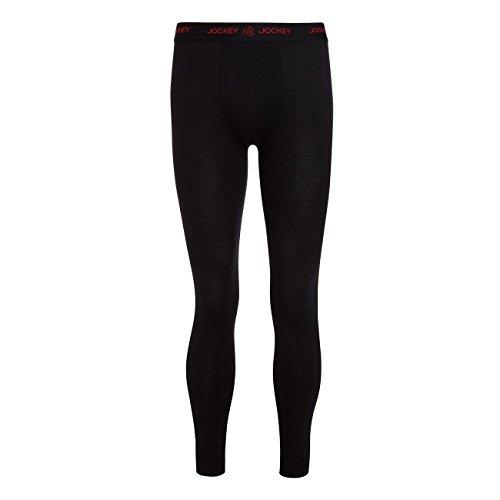 Jockey Herren Long Pant 3D Innovations2er Pack, Größe:XXL;Farbe:black (999) (Lange Unterhosen Jockey)