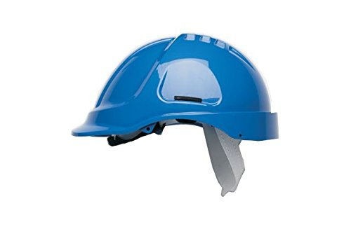 Scott Safety HC600/B Helmet Unvented with Sweatband, Blue