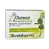 Trebifarma Diurecor Mangime Complementare in Compresse per Cani/Gatti - Supporto Renale/Urologico - 10 gr