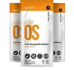 Keto OS Pure Therapeutic Ketones | Prüvit (3 packets) | caffeine free Test