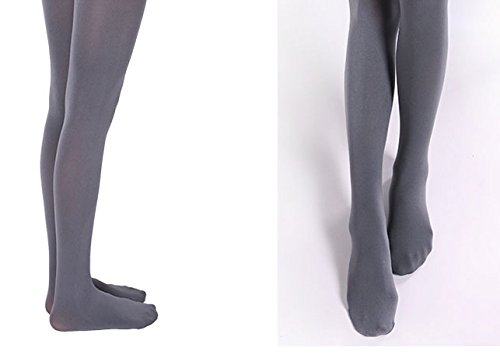 Bllatta Damen Matt Fein Umstands Strumpfhose Maternity tights 120D (6 Colors) Grey