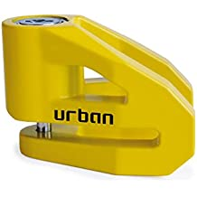 URBAN - Candado antirrobo UR2 con PIN de 6mm. para disco de freno. Color AMARILLO