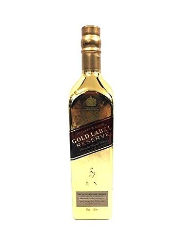 Johnnie Walker Gold Label Limited Edition Gold Bullion Bottle (1 x 0.7 l) (Labels Whiskey Bottle)