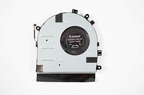 Ventilador de la CPU para Lenovo U31-70 E31-70 E31-80 E51 500S-13ISK, CPU Fan, Cooler