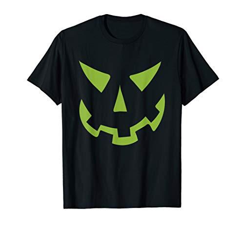 Kürbis Gesicht Tshirt | Pumkin 2019 Gruselig Spuken  (Halloween-2019 31. Oktober)