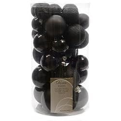 Set di 30 palle di Natale Lubina Nero