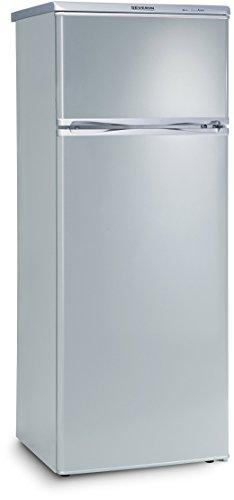 SEVERIN Doppeltür-Kühl-/Gefrierschrank, 166 L/46 L, Energieeffizienzklasse A++, KS 9793, Silber