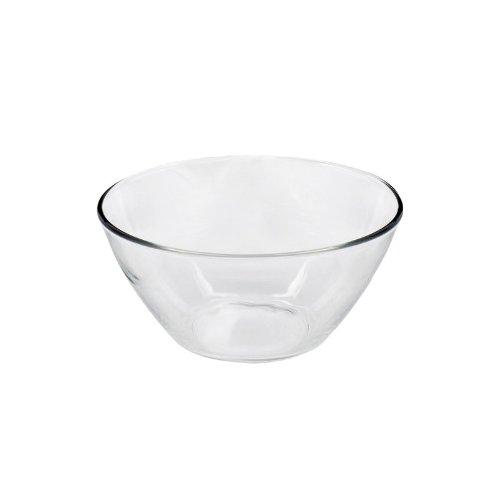 Salatschüssel, Salatschale 'Cosmos', Ø 14cm, Glas (1 Stück)