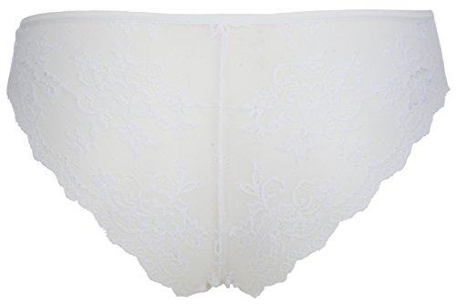 Ex-StoreDamen Taillenslip 3 Pack White
