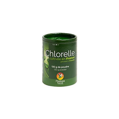 Chlorelle Francaise Poudre 130 g - Flamant Vert