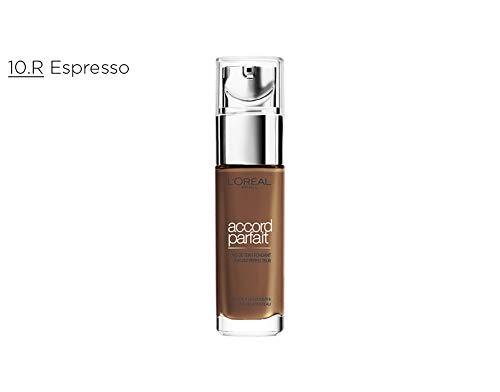 L'Oréal Paris True Match 10.R/10.C Espresso base de maquillaje Frasco dispensador Líquido - Base de maquillaje (Espresso, 10.R/10.C, Piel Oscura,...