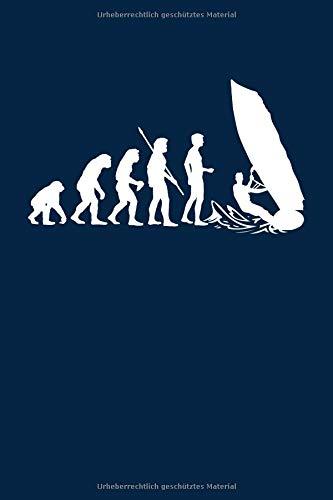 Evolution Windsurfer: Notizbuch / Notizheft für Surfer Surf-en Windsurf-en Windsurf-ing A5 (6x9in) liniert mit Linien