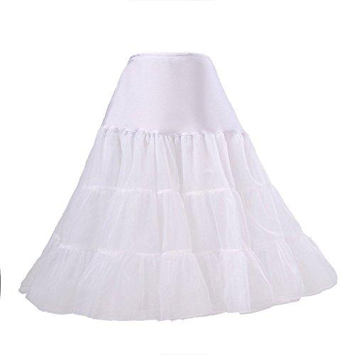 BOOLAVARD Wedding bridal 1950 Petticoat Reifrock Unterrock ...