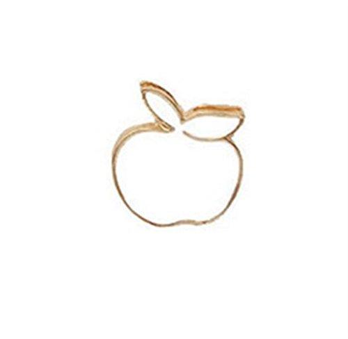 Broschen für Frauen Kleidung Dekoration Schmuck Vintage Cute Apple Broschen Button Badge Kleidung Zubehör (weiß) - Apple-weiß-kleidung