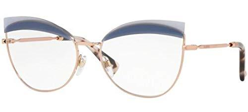 Valentino Brillen GLAMTECH VA 1014 ROSE GOLD BLUE Damenbrillen