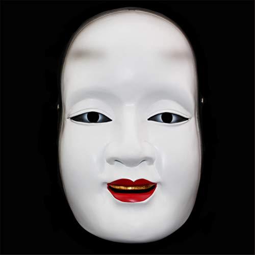 TTXLY Halloween-Maske Harzmaske Theatermasken Japanische NOH-Masken Sun Jilang-Masken Prajna-Masken Requisitenmasken