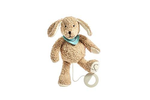 Käthe Kruse 87415 Hund Sammy Spieluhr (Baby Puppe Hund Spielzeug)