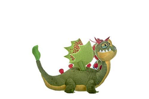 DreamWorks - 12436 - Peluche - Train Your Dragon 3 Barf et Belch - 32 cm - Multicolore