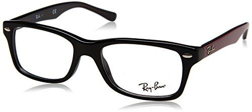 Ray-Ban Unisex-Kinder 0RY 1531 3749 48 Brillengestelle, Schwarz (Black),