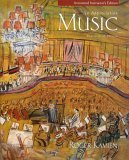Music: an Appreciation [Paperback] by Kamien, Roger