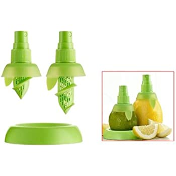 2pcs Citrus Lemon Orange Salad Fruit Juice Sprinkling Extractor Juicer Sprayer