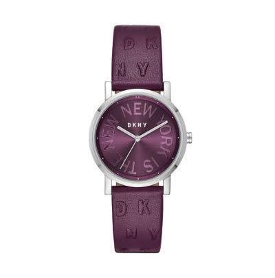 DKNY Reloj Analógico para Mujer de Cuarzo con Correa en Cuero NY2762