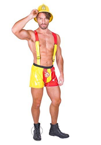 Hot Stuff Feuerwehr Kostüm-Für Halloween, Kostüm Party Zubehör, Mittel, Mehrfarbig (Hot Stuff Kostüm)