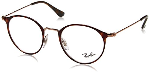 Ray-Ban - RX 6378, Rund Metall Unisex (Ray-ban-runde 47)