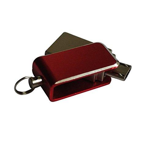 Clé USB 32Go Micro USB 2.0 (OTG) Stockage Mémoire Flash Drive Design Pliable pour Smartphone Android et tablette