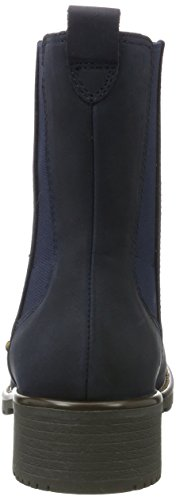 Clarks Damen Orinoco Club Chelsea Boots Blau (Navy Nubuck)