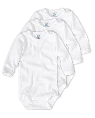 Sanetta - Body - Uni - Manches Longues - Bébé (garçon) 0 à 24 mois Blanc  blanc - Buy Online in Oman.  4bc7acebf77