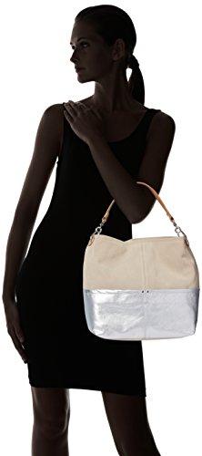 Unisa Znispero, sacs à main Femme Multicolore (Ecru)