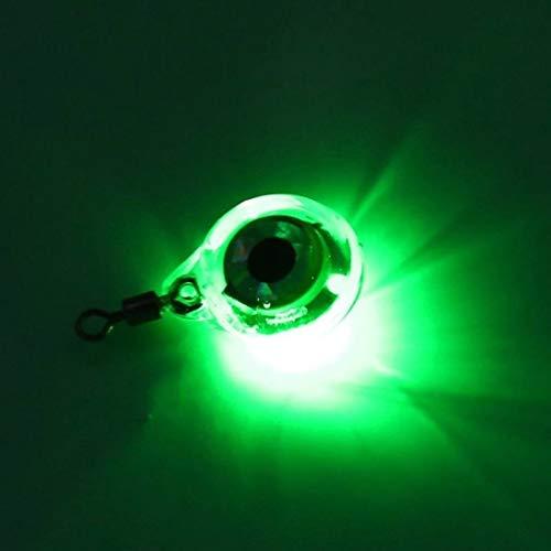 WEIHAN Luces Nocturnas de Pesca de Tamaño Pequeño Resplandor Fluorescente LED Luz de Noche Subacuática para Atraer Pescado LED Suministros de Pesca