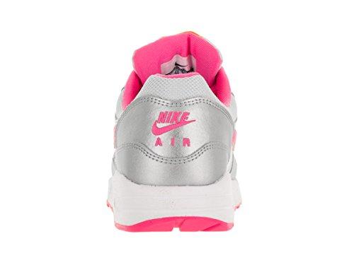 Nike Air Max 1 Gs Scarpe Sportive, Unisex Bambino Bianco