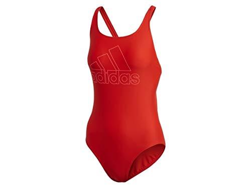 adidas Damen Athly V Logo Badeanzug Active Red 38 Preisvergleich