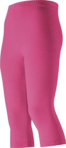 Playshoes Mädchen Capri uni Legging, Rosa (pink 18), (Herstellergröße: 92) -