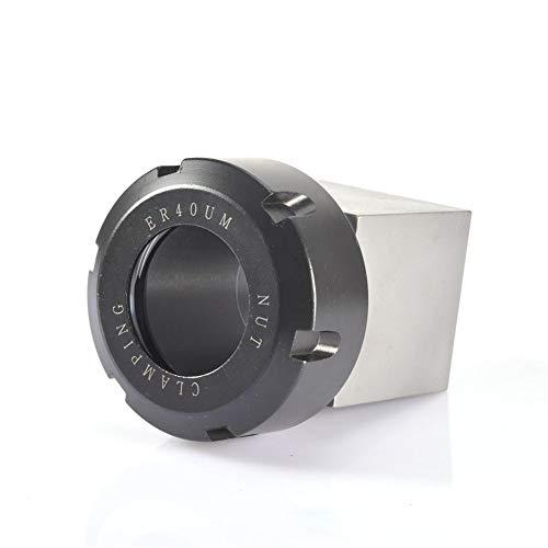 """Fanlary Square ER25 / ER32 / ER40 Spannzangen Block Drehbank Werkzeughalter, Hartstahl Spannfutter-Spannzangenhalter 1,57x1,57x2,68\""""für CNC-Drehmaschine Graviermaschine Querbohrungsbohrung"""