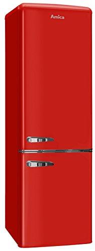 Amica KGCR 387 100 R Kühl/Gefrierkombination rot