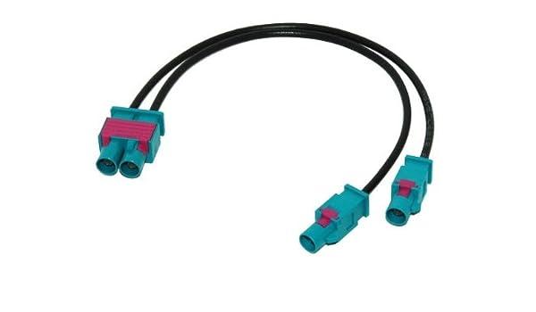 Adattatore antenna con ingresso Fakra RCD510/per VW Seat Skoda Bolero