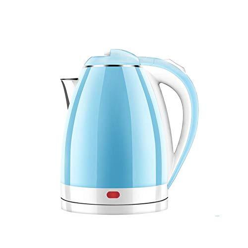 FF Bouilloire électrique automatique d'isolation de bouilloire de pot rapide automatique de ménage (Couleur : Blue)