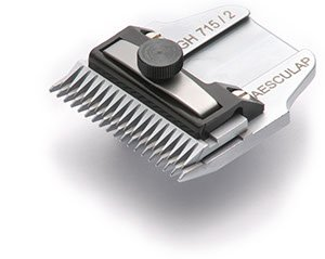 AESCULAP Scherkopf GH 715 - 2 mm / kurze Zähne