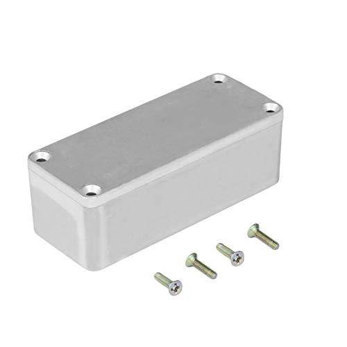 LouiseEvel215 Tragbare Aluminium musikinstrumente kit Kabel Stomp Box Effekte Pedal gehäuse für Gitarre Effekt Stil fällen Halter