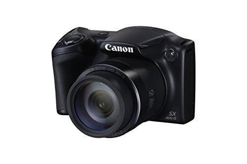 """Canon Powershot SX400 - Cámara digital compacta de 16 Mp (pantalla de 3"""", zoom óptico 30x, estabilizador óptico), negro"""