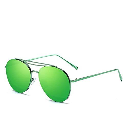 Uojack Retro Style Sonnenbrille Große ovale Rahmenfarbe Objektiv Sonnenbrille Sonnenbrillen