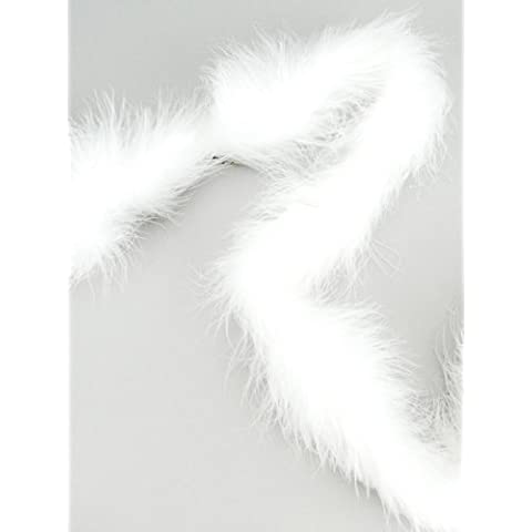 Marabou Feather Boa Solid Color Heavyweight 72