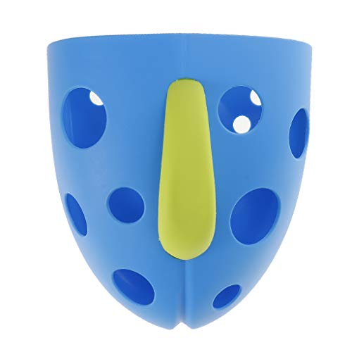 D DOLITY Kinder Spielzeug Lagerung Organizer Kinder Badezimmer Ablage Korb Kinder Saugnapf Aufbewahrung Organizer Badewannenspielzeug Aufbewahrungsbox