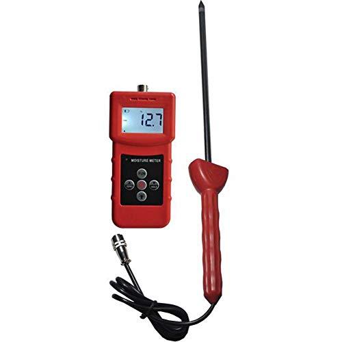Digitaler Portable Hay Moisture Meter, Feuchtigkeitsmessgerät/Feuchtigkeitsmesser für Feuchtemessung, Bereich 4-90% -