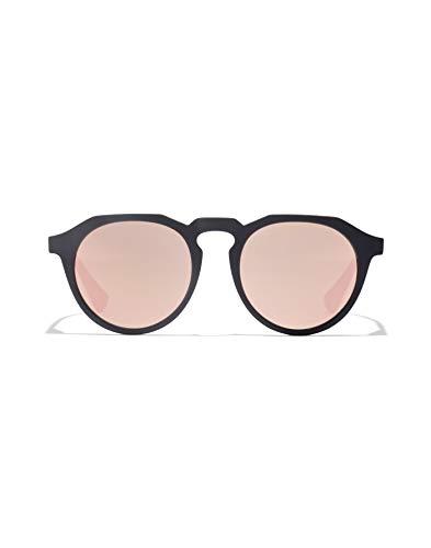 HAWKERS Warwick Gafas de sol, Negro/Rosa Dorado, One Size Unisex-Adult