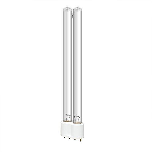 everfarel Lampe de Rechange UVC Lampe Ampoule Tube UV de Rechange pour UVC 24 W, Douille 2 G11